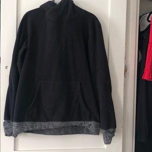 Black fuzzy Sweatshirt